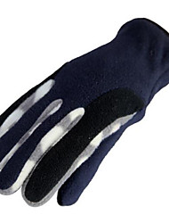 Motorcycle Gloves Warm Double Double Fleece Thickening Outdoor Motorcycle Electric Car Riding Gloves