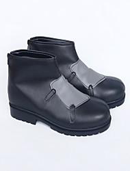 Zapatos de Cosplay Botas Cosplay Cosplay Cosplay Animé Zapatos de cosplay Cuero Cuero Sintético/Cuero de Poliuretano Cuero PUUnisex