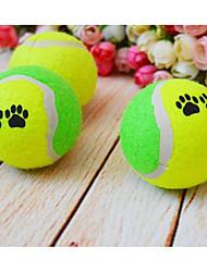 Juguete para Perro Juguetes para Mascotas Juguete Mordedor Pelota de tenis Silicona
