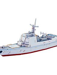 Пазлы Набор для творчества 3D пазлы Строительные блоки Игрушки своими руками Военные корабли