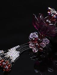 Diy pendentes automotivos cristal requintado de alto grau de lótus criativo pendente de carro âmbar&Ornamentos de vidro