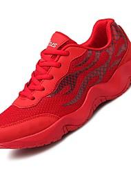 Chaussures de sport pour hommes Chaussures en similicuir Summer Autumn Chaussures décontractées décontractées à bas prix Ruby White sous 1