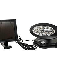 XRF2017002 10LED Lamp Beads Solar Human Body Infrared Sensor Lamp Villa Garden Lights