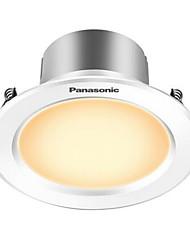 panasonic® 1pcs 3w llevó el downlight celing la luz blanca caliente ac220v agujero del tamaño 80m m 180lm 3000k