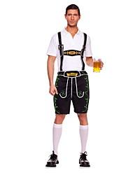 Costumes de Cosplay Tenue Fête d'Octobre/Bière Cosplay Fête / Célébration Déguisement d'Halloween Rétro Haut Pantalon Fête d'Octobre