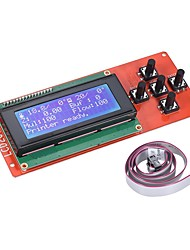 2004 lcd smart display screen controller module с кабелем для рампы 1.4 arduino mega pololu shield arduino reprap 3d printer kit accessor