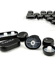 104 teclas de vapor punk round vintage transparente conjunto de teclas para teclado mecânico