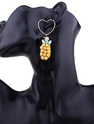 Women's Drop Earrings Hoop Earrings Earrings Set Tassel Tassels Metallic Alloy Jewelry For Gift Stage Date Club Street