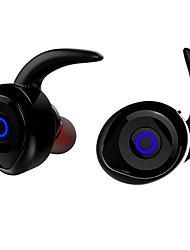Écouteur bluetooth T1 torntisc 4.1 haut-parleurs stéréo stéréo binaural rechargeable en l'oreille support 1 match 2 avec longue durée de