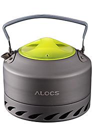 ALOCS Походный чайник Походный чайник для кофе Кофе и чай Компактность минеральный Алюминий для Пикник Отдых и туризм На открытом воздухе