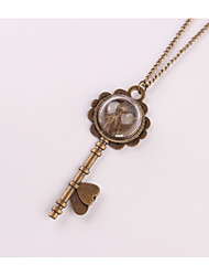 Women's Pendant Necklaces Irregular Alloy Metallic Vintage Jewelry For Wedding Party Birthday Graduation Gift Daily