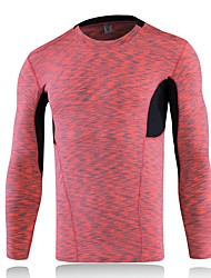 Yoga Compression Clothing Tops Fitness, Running & Yoga Stretchy Sports Wear Yoga Running/Jogging Exercise & Fitness Leisure Sports Men's