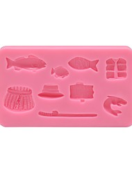 Fishing Decoration Mold SM-689
