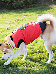 Dog Vest Dog Clothes New Year's Embroidered Ruby