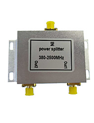 Diviseur de puissance 2 sorties diviseur de signal gps diviseur de signal de téléphone mobile distributeur de signal wifi 380-- 2500mhz