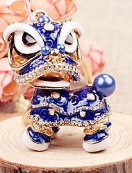 Sac / téléphone / porte-clés charme dessin animé jouet résine style chinois