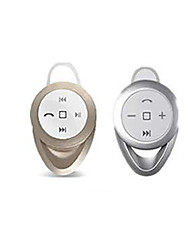 bluetooth v4.0 in-ear casque stéréo avec micro pour 6/5 / 5s / 5 htc lg et d'autres s4 samsung