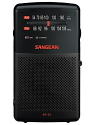SR-35 DSP Radio portable Radio FM Enceinte interne Noir