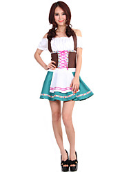 Costumes de Cosplay Bal Masqué Tenus de Servante Fête d'Octobre/Bière Cosplay Serveur / Serveuse Fête / CélébrationDéguisement