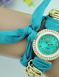 Women's Fashion Watch Bracelet Watch Quartz Fabric Band Casual