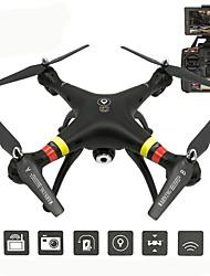 Drone X188 4 canaux 6 Axes Avec Caméra HD 5.0MP Eclairage LED Retour Automatique Mode Sans Tête Positionnement GPS Flotter Avec Caméra