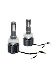Genuine Car Headlight Lighting Pattern LED Headlight Kit High Quality 72W 8000LM LED Headlight Kit