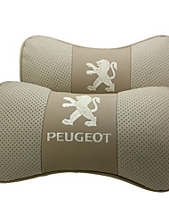 Automotor Reposacabezas Para Peugeot Reposacabezas para coche Piel