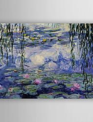 Pintada a mano Paisaje Horizontal,Nueva llegada Un Panel Lienzos Pintura al óleo pintada a colgar For Decoración hogareña