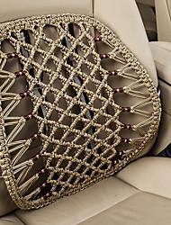 автомобильный Подушки для талии Назначение Универсальный Все года Подушечки под спину в авто Дерево