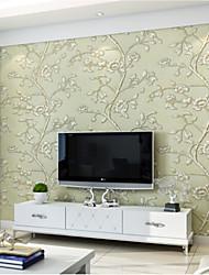 С принтом 3D Обои Для дома Современный Облицовка стен , Чистая бумага материал Клей требуется обои , Обои для дома