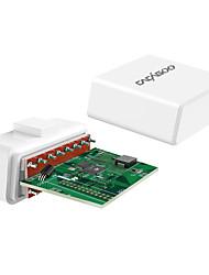 cacagoo wireless 4.0 obd ii lector de código del escáner lector de diagnóstico herramienta de exploración con hud función de pantalla para