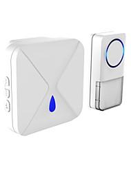 1000ft рабочий диапазон zigbee smart wireless islam плагин электрическая квартира ding dong дверь звонок кольцо кнопка птица звук