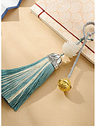 Bag / Phone / Keychain Charm Jingle Bell Crystal / Rhinestone Style Tassel Cartoon Toy Polyester Nylon Chinese Style 15CM