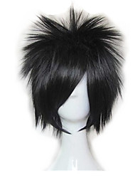 Cosplay Wigs Naruto Sasuke Uchiha Anime/ Video Games Cosplay Wigs 35 CM Heat Resistant Fiber Unisex
