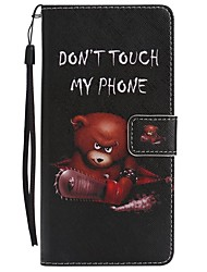 For Case Cover Card Holder Wallet with Stand Flip Magnetic Pattern Full Body Case Animal Hard PU Leather for Samsung Galaxy Note 8