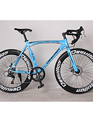 Cruiser велосипедов Велоспорт 7 Скорость 26 дюймы/700CC SHIMANO TX30 Дисковый тормоз Без амортизации Противозаносный Aluminum Alloy
