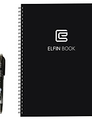 elfinbook smart notebook reusableerasablewater-to-erase облако хранения ноутбук