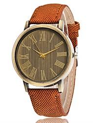 Homens Mulheres Relógio Elegante Relógio de Moda Único Criativo relógio Chinês Quartzo Tecido Banda Pendente Casual Luxuoso Elegantes