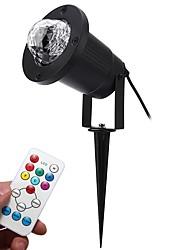 youoklight 12w ac100-240v rgbw color llama efecto de filigrana llevado etapa luz que contiene cr2025 baterías us / eu plug 1pcs