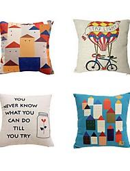 2 pçs Algodão/Linho Fronha almofada do sofá Cobertura de Almofada Almofada de Cama Almofada de Corpo Almofada de Vigem,Cores Variadas