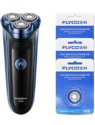 FLYCO FS362 Electric Shaver Razor Three Heads 220V Charging Indicator
