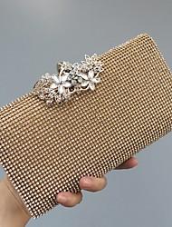New Women's Fashion Luxury Handbags Formal Event/Party Wedding Evening Bag/Handbag/Clutch with Diamonds BLACK GOLD SILVER