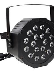 30w rgb 18 светодиодов par stage эффект освещения dmx512 звук активирован для дискотека dj ktv bar wedding