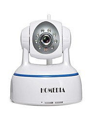 Webcam homedia® 1080p wifi ip 2.0mp sans fil p2p onvif ptz sd carte vision nocturne vue mobile (android & ios)
