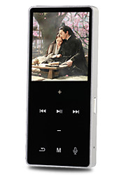 Hi-FiPlayer4GB Jack da 3,5 mm Scheda TF 128GBdigital music playerPulsante Tocco