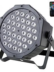 U'king® 72w 36pcs rgb leds etapa par luz etapa iluminación dmx512 sonido activo para dj ktv xmas etc 1pcs