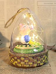 Fantasia Família Aniversário Material Resina Moderno/Contemporâneo Estilo Natal Ano Novo,vidro Crafting Acessórios decorativos