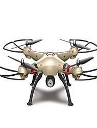 Drone SYMA X8HW Canal 4 Com 0.3MP HD Camera Forward / Backward Vôo Invertido 360° Com Câmera Quadcóptero RC Câmera Chave de Fenda Hélices