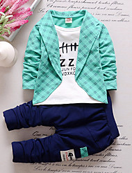 Baby Boys' Outdoor Indoor Casual/Daily School Solid Clothing Set All Seasons