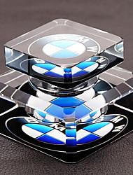 purificador de aire automotor de cristal de la insignia del coche del ornamento del perfume del coche